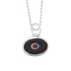 Lilac Protection Juju Eyeball in Sterling Silver