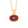 Blue Protection JuJu Eye in 24K Gold
