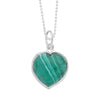 Malachite Heart for Renewal