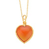 Carnelian Heart for Love