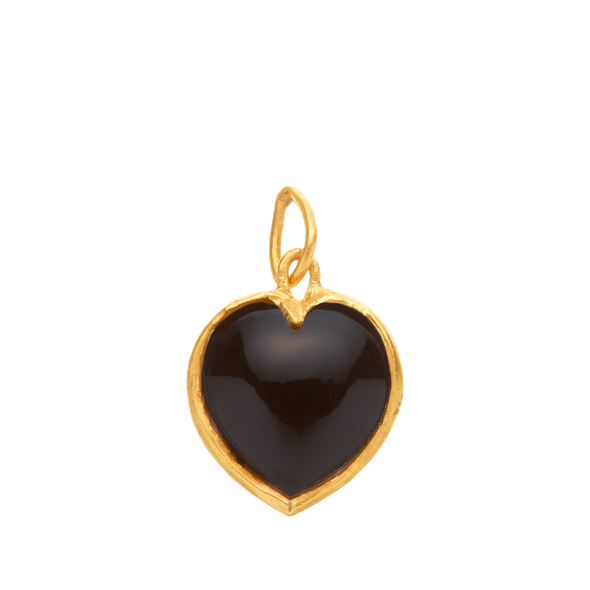Onyx Heart for Strength, with bezel