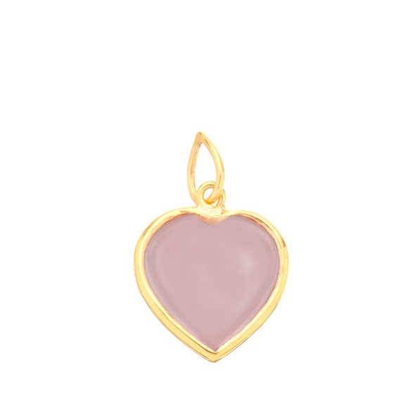 Rose Quartz Heart for Calm