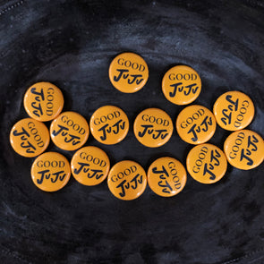 Good JuJu Buttons (3 pack) - Yellow!