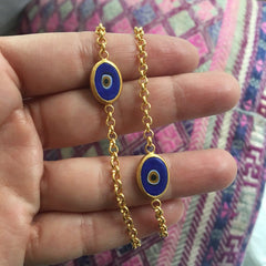 Single Juju Eyeball Bracelet in 22K Gold