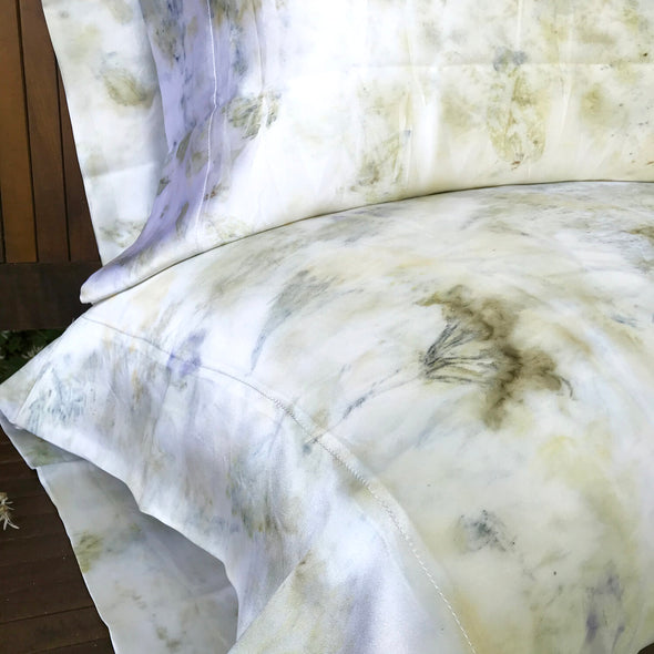 Floral Silk Pillowcases
