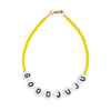 Good JuJu Glass Beaded Bracelet - Yellow!