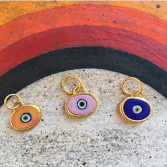 Single Juju Eyeball Bracelet in 24K Gold