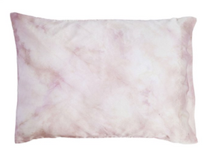 Hibiscus Dyed Silk Pillow Cases