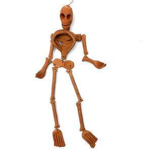 Mexican Clay Skeleton