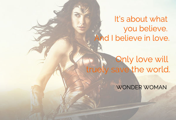 Wonder Woman's Greatest Strength is Her Humanity. -Julie Zeilinger for MTV