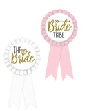 Bachelorette Party Bride Tribe Ribbon Set