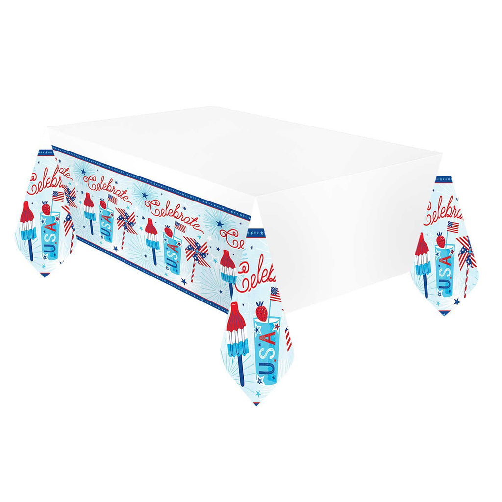 Celebrate USA Party Table Cover