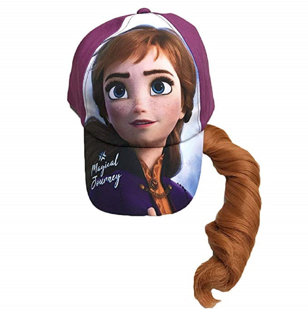 Frozen 2 Anna Child Cap With Ponytailz