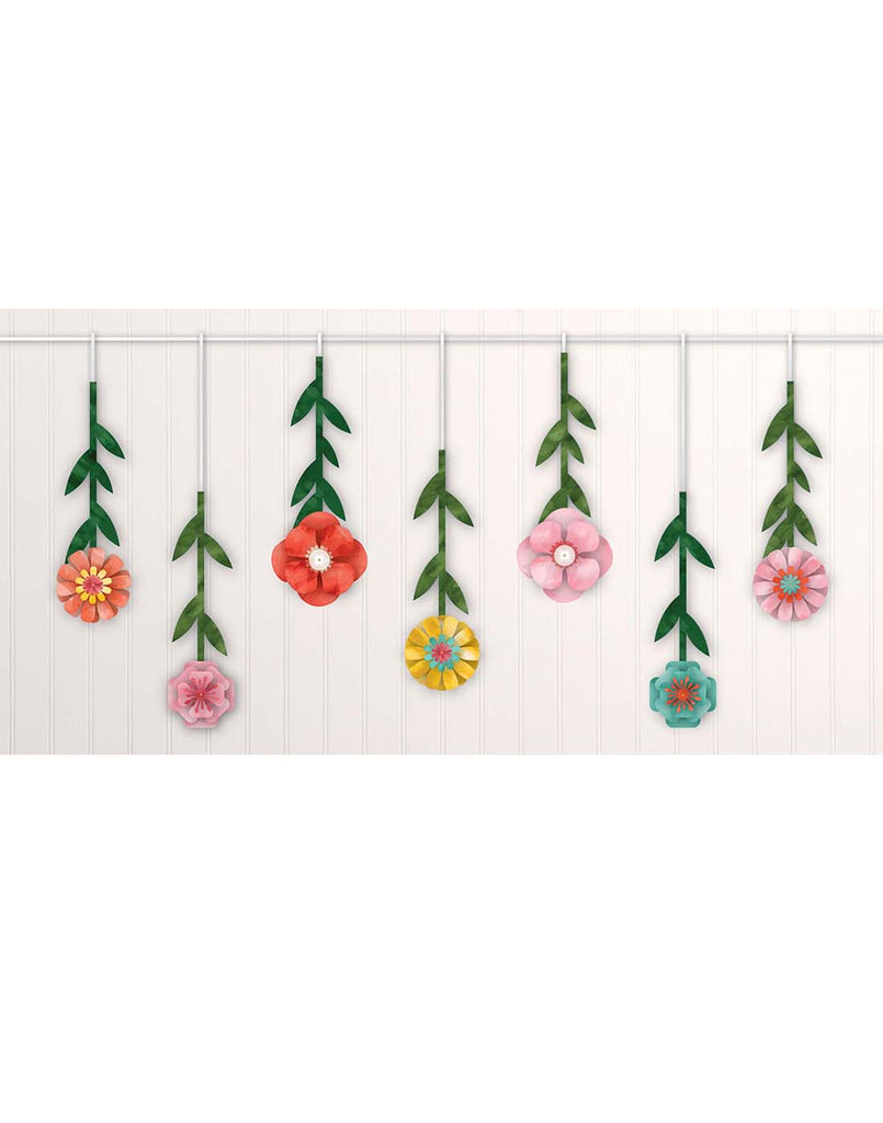 Bright Flowers Party Hanging Kit