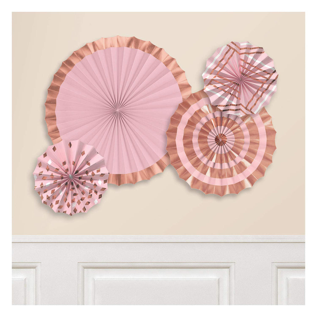 Rose Gold Blush Party Decorations