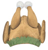 Cooked Turkey Mens Adult Costume Accessory Hat