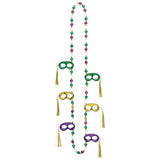 Mardi Gras Mask Party Necklace