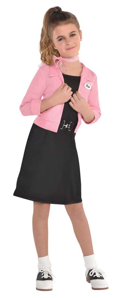Pink Ladies Child Grease Costume