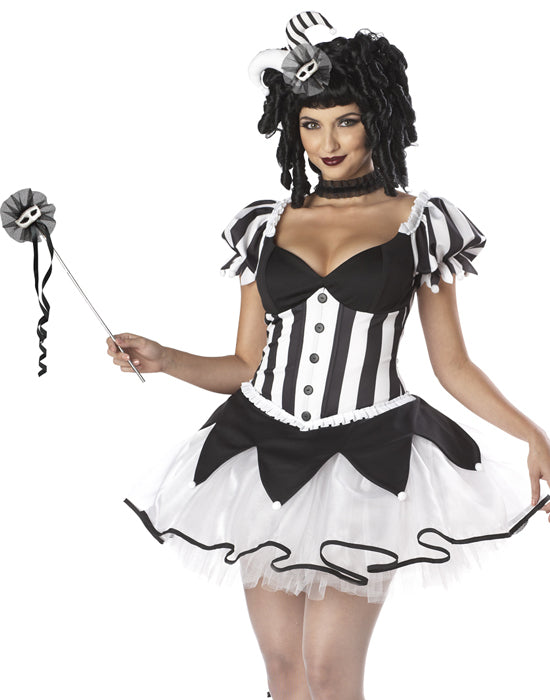 Black Kings Delight Harlequin Costume