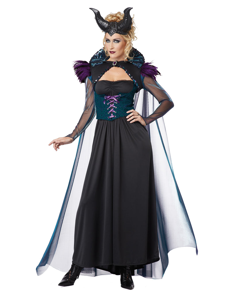Evil Queen Villain Sorceress Costume