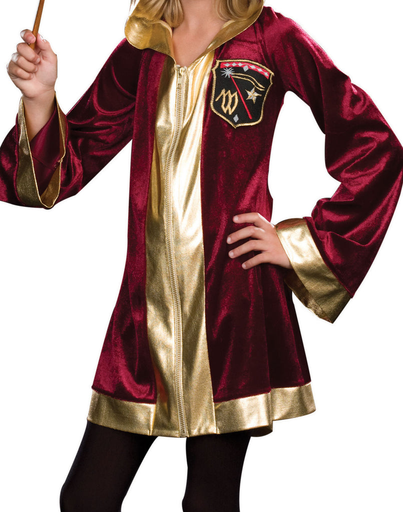 Magic Student Red Robe Wizardly Costume