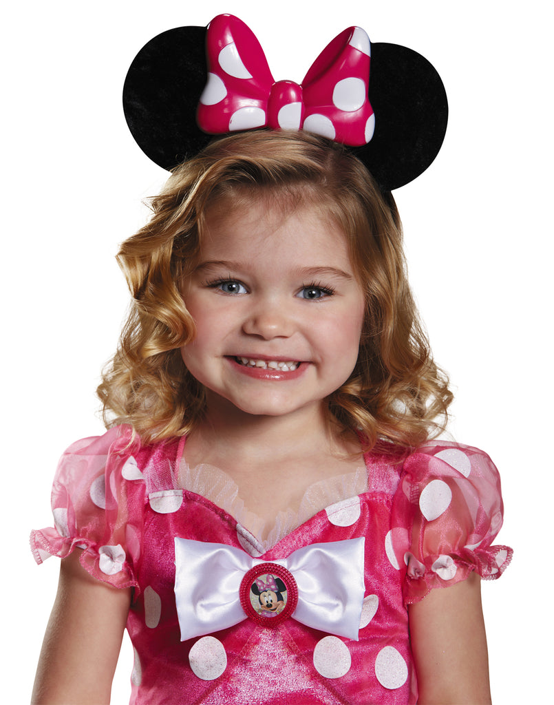 Pink Minnie Lite-Up Child Ears
