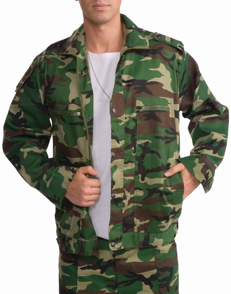 Green Camouflage Jacket