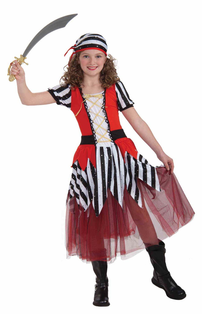 High Seas Sweetheart Child Pirate Costume