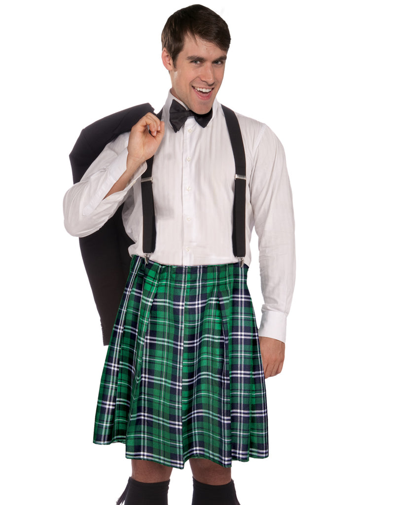 Naughty Kilt & Shorts Costume Kit