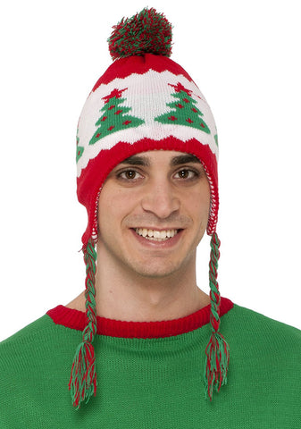 Elf Christmas Holiday Womens Hat
