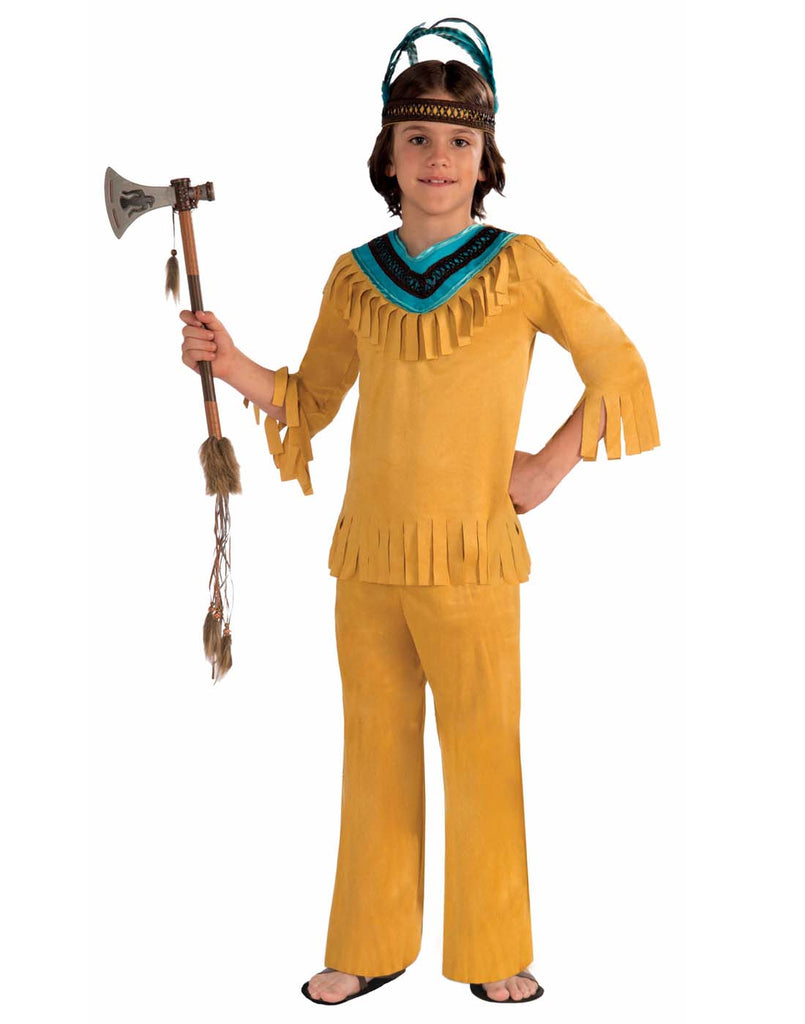 Warrior Brave Boy Child Indian Costume