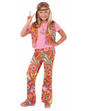 Hippie Girl Child Costume