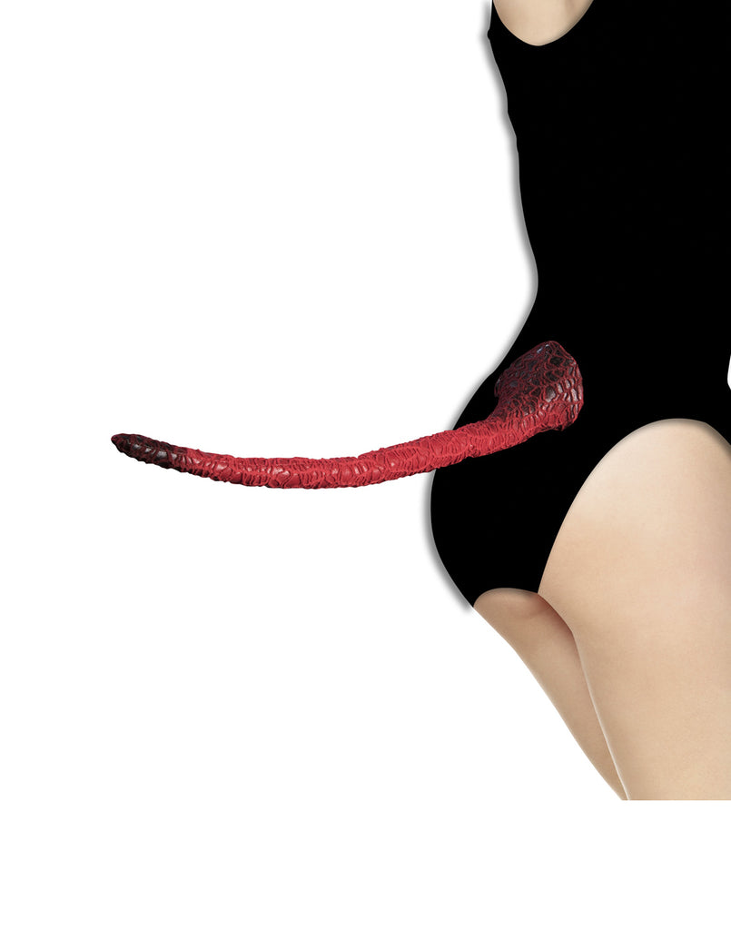Red Devil Costume Tail