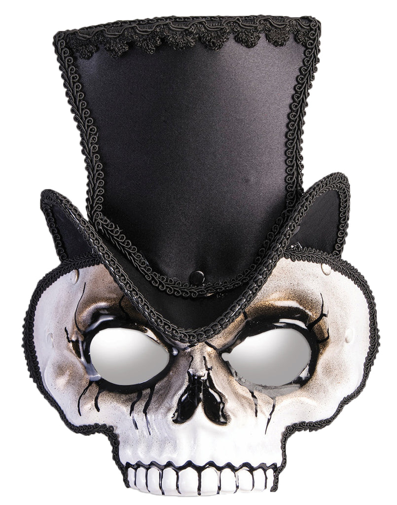 Sir Steampunk Adult Black Mask