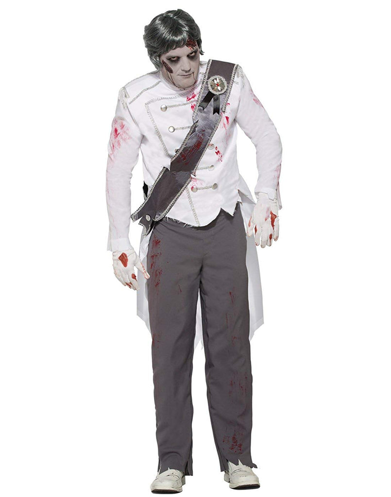 Zombie Never After Prince Adult Costume