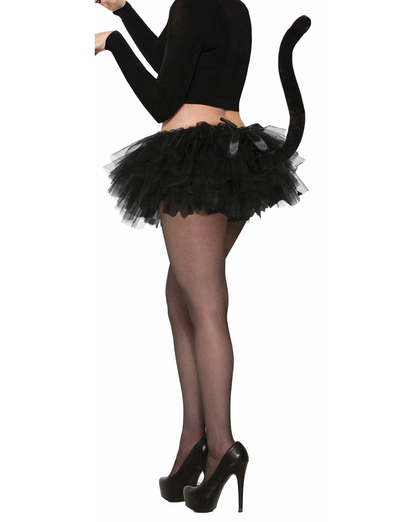 Black Cat Adult Tutu With Tail