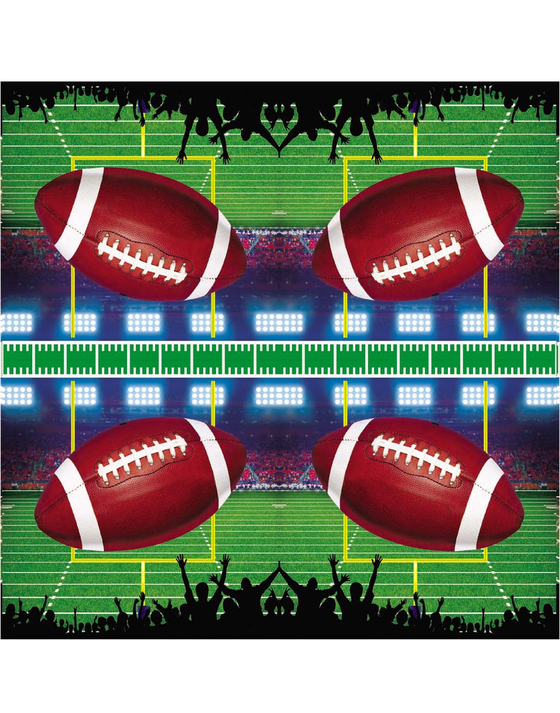 Football Party 13 Inch Square Napkins