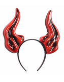 Demon Horns Adult Costume Headband