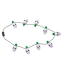 Light Up Skull Costume Necklace