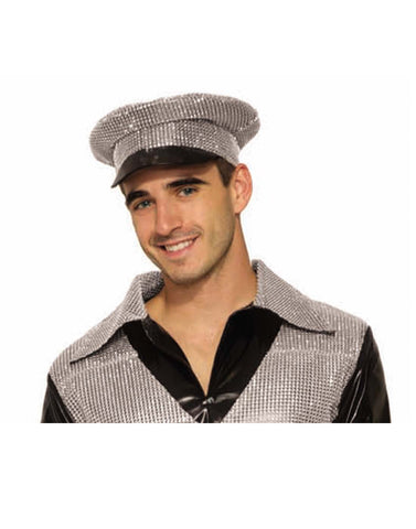 Textured Adult Steampunk Top Hat