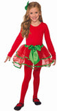 Holiday Red Green Child Tutu