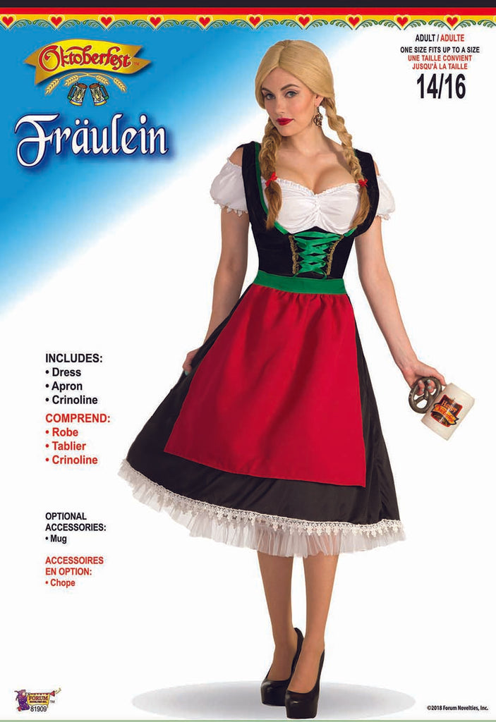 Fraulein Adult Beer Wench Costume