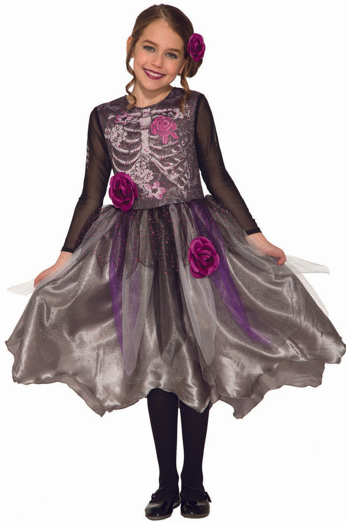Sweet Skeleton Child Costume Dress
