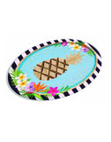 Luau Oblong Platter Hawaiian Party Plates