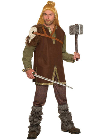 Barbarian Mens Costume Cape