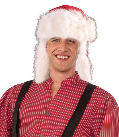 Long Santa Adult Bendable Hat