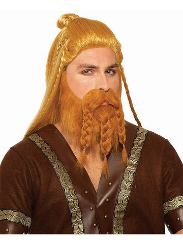 Viking Adult Fur Trim Hooded Capelet