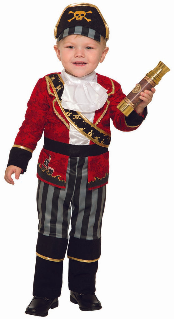 Pirate Boy Deluxe Costume