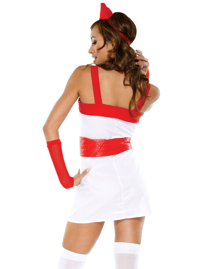 Love Doctor Naughty Nurse Role Play Women's Lingerie Halloween Costume