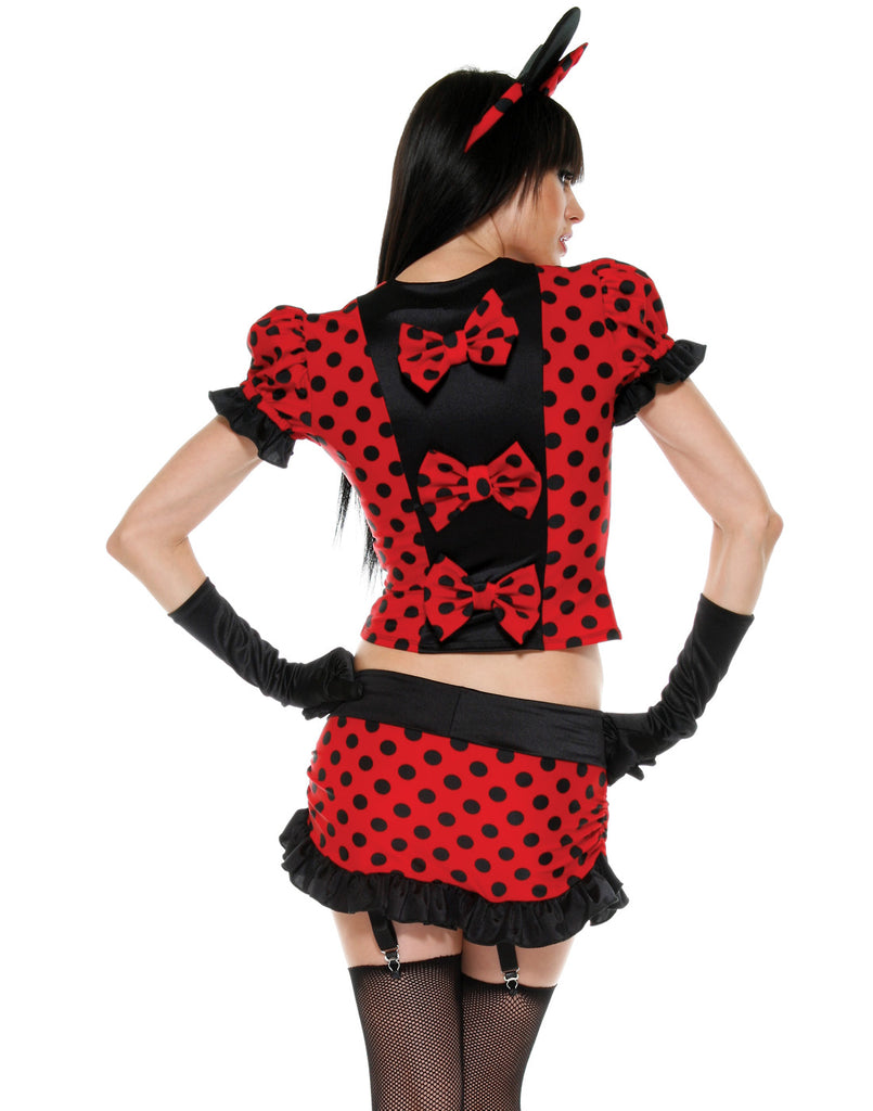 Minnie Mouse Red Polka Dot Costume